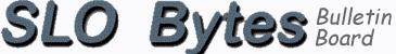 SLO Bytes Bulletin Board